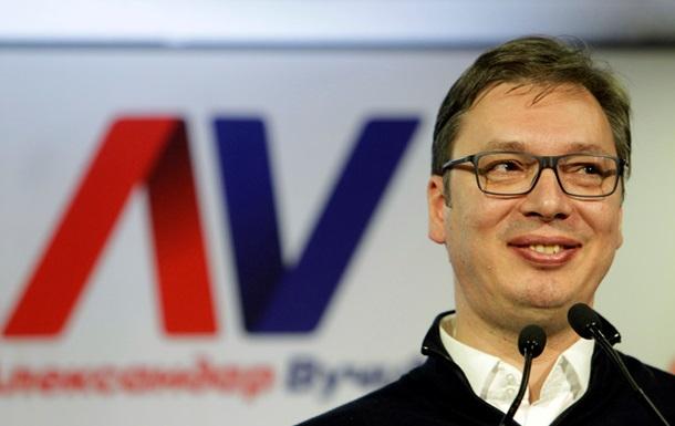 Лідер виборів в Сербії подякував Путіну і Меркель за підтримку