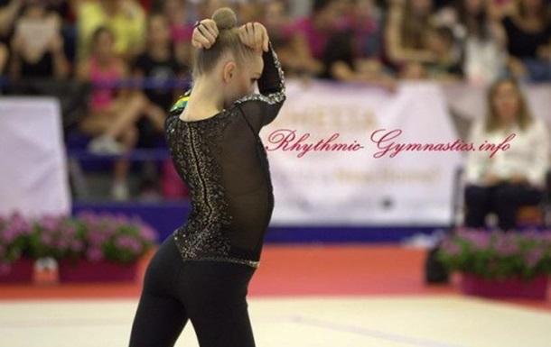 Художня гімнастика: Вікторія Мазур стала п ятою на Гран-Прі в Іспанії