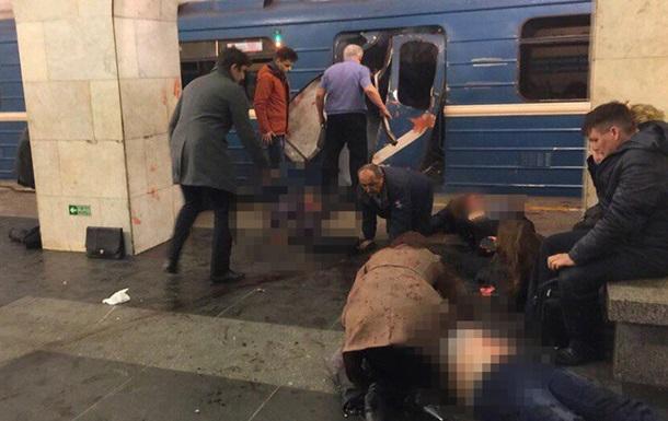 Взрывы в метро Петербурга: погибли десять человек