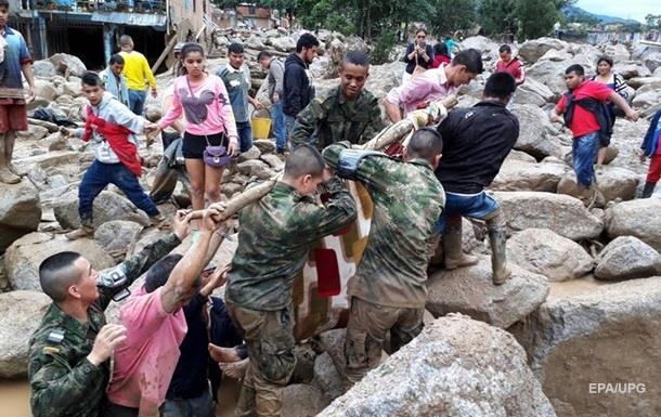 Количество жертв оползня в Колумбии превысило 270 человек