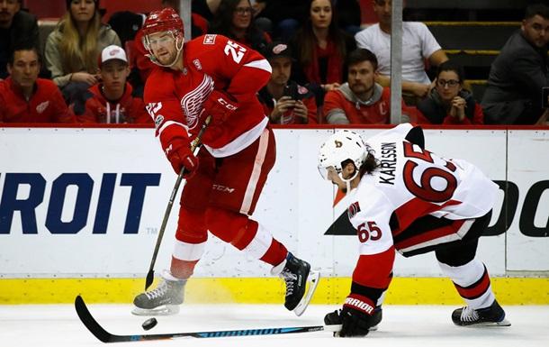 НХЛ: Детройт за булітами обіграв Оттаву, Монреаль сильніший за Флориду