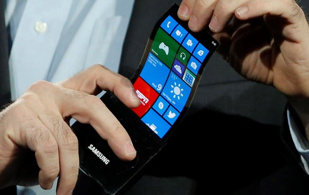 ЗМІ розповіли, коли Samsung випустить смартфон, що згинається
