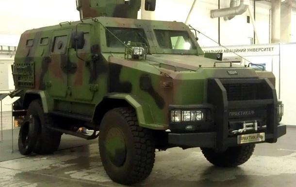 Армия приняла на вооружение новый бронеавтомобиль