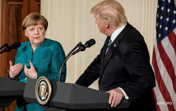 Трамп і Меркель обговорили конфлікт на Донбасі