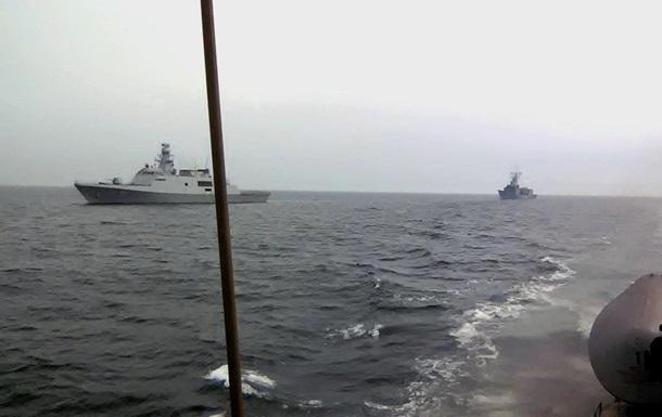 Український катер провів спільні тренування з кораблями ВМС Туреччини