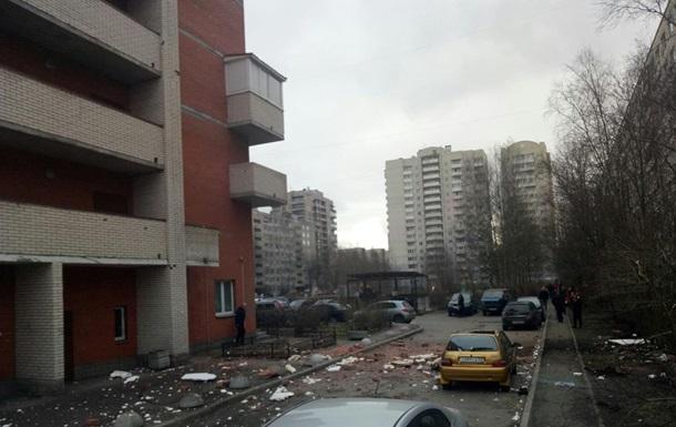 Влада Петербурга заперечує вибух у будинку