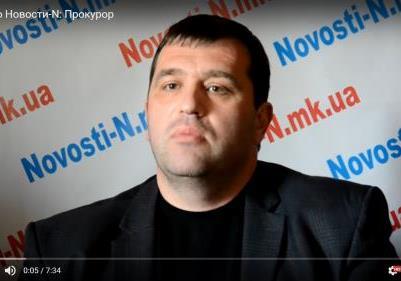 Підлеглий Луценко їздить на «віджатому» авто без техпаспорта