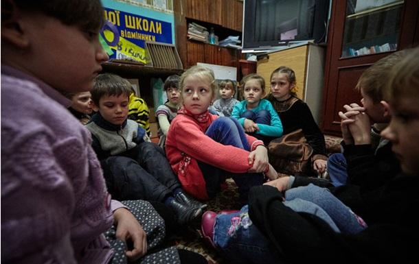 ООН: Сотням тисяч дітей Донбасу потрібна психологічна допомога