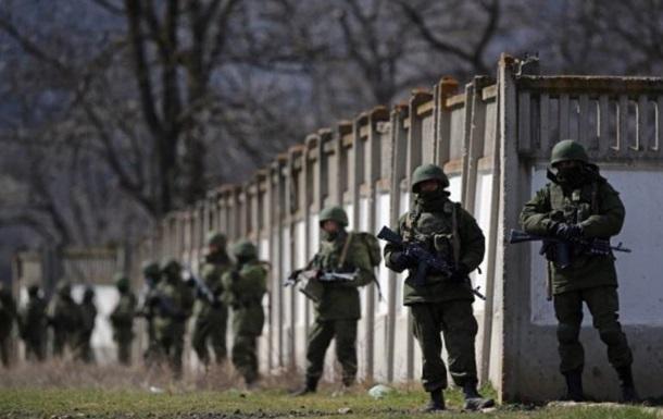 Російський спецназ проводить навчання у Криму