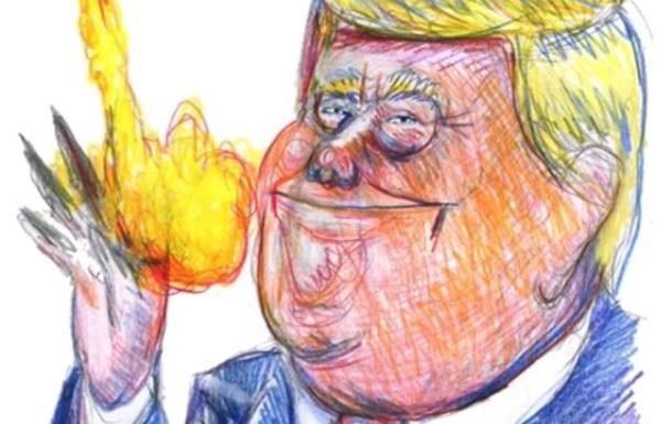 У Charlie Hebdo висміяли Трампа й Асада