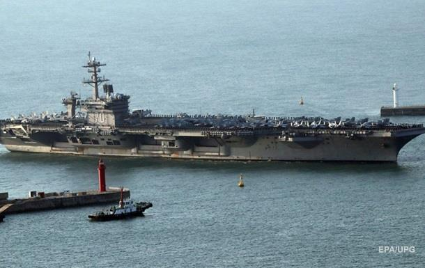 Ударна група ВМС США вирушить до Корейського півострова − ЗМІ