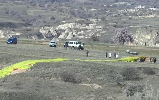 У Туреччині впала повітряна куля, є жертви