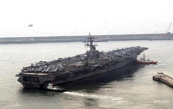 США відправили ударні кораблі до Кореї