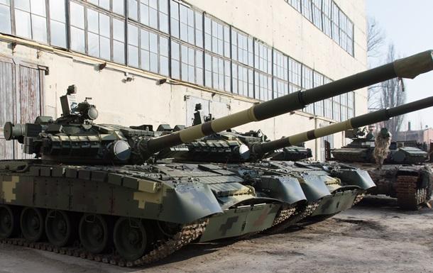 Укроборонпром показав оновлені танки для ЗСУ