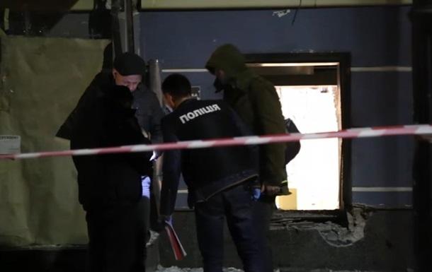 Взрыв в Киеве на Владимирской