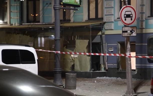 Нічний вибух в Києві: знайдені фрагменти бомби