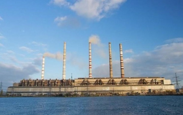 Криворожская ТЭС остановилась из-за нехватки угля