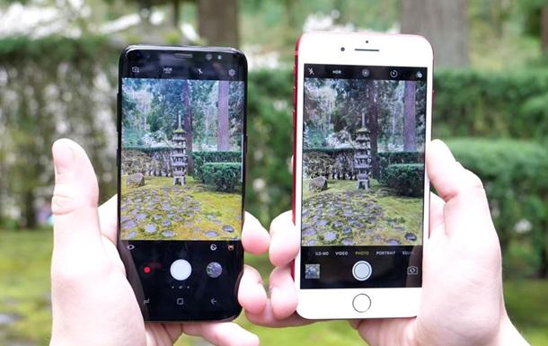 Блогер порівняв камери Galaxy S8 і iPhone 7 Plus