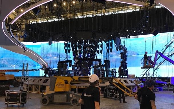 Евровидение. Появились фото со строительства главное сцены