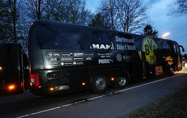 Рядом с автобусом футболистов Боруссия прогремел взрыв