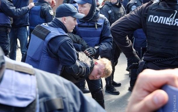 В Одесі перевірять дії поліції під час бійок на Алеї Слави
