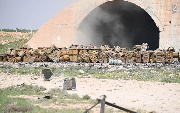 Сирія просить перевірити авіабазу Шайрат на наявність хімічної зброї