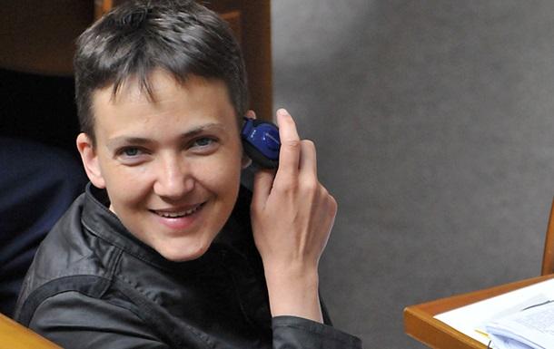 Савченко обвинила Порошенко в уплате налогов РФ