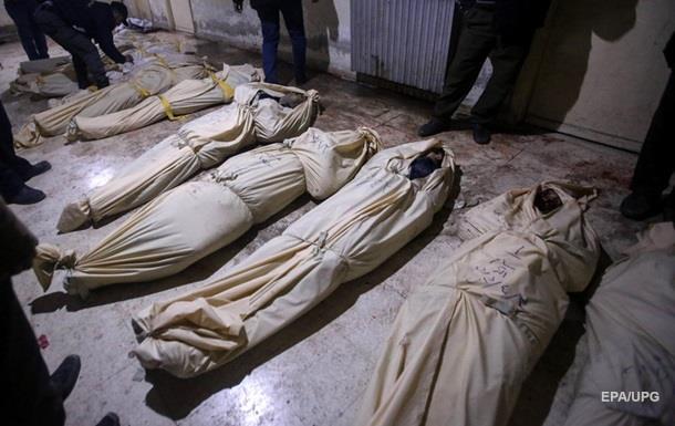 У Сирії знищений склад хімічної зброї, сотні жертв