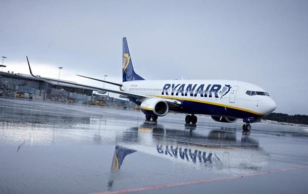 Ryanair начнет летать в Украину раньше ожидаемого