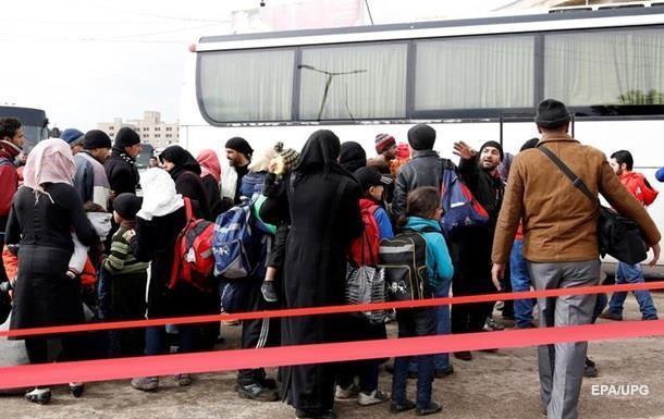 У чотирьох містах Сирії почалася евакуація