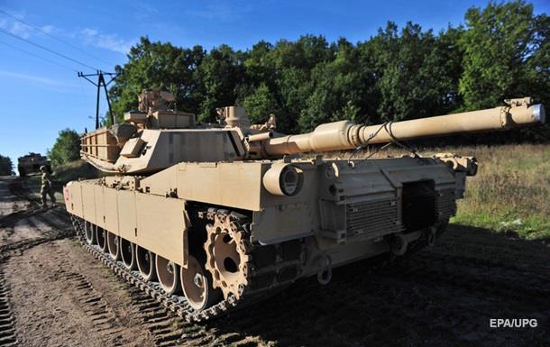 На танках США в Європі змінюють камуфляж