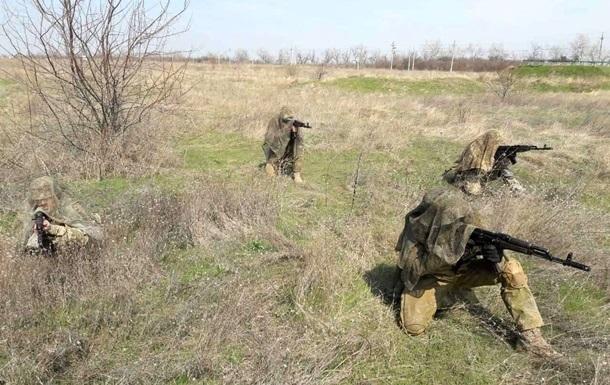 У зоні АТО поранили чотирьох військових