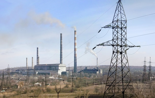Слов янська ТЕС зупинена через нестачу палива