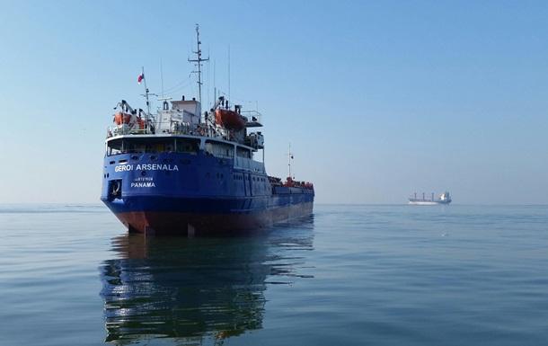 На затонувшем в Черном море сухогрузе были десятки тонн топлива