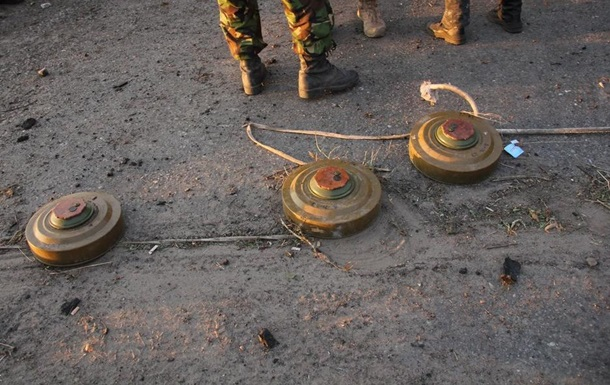 За час АТО від вибухів мін загинули 42 дитини
