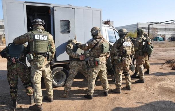 СБУ проведет учения возле Крыма