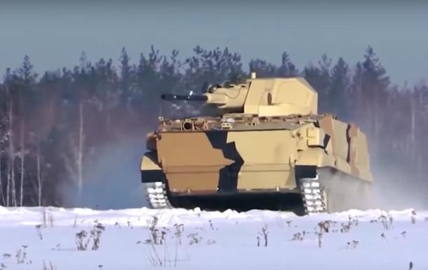 У Мережі показали випробування нової супер-БМП Росії