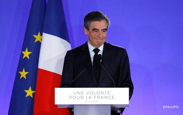 Фійон визнав поразку на виборах у Франції