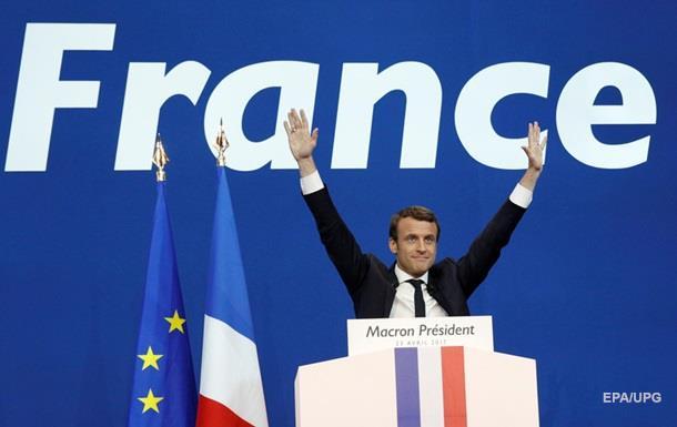 Вибори у Франції: Макрон обійшов Ле Пен