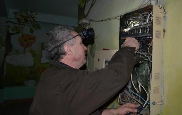 В Авдіївці електропостачання відновили на 15%