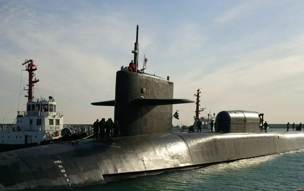 Подлодка США прибыла к берегам Южной Кореи