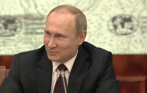 Путин сравнил себя с морским ангелом