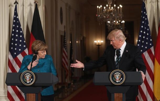 Меркель 11 разів пояснювала Трампу торгівлю з ЄС - ЗМІ