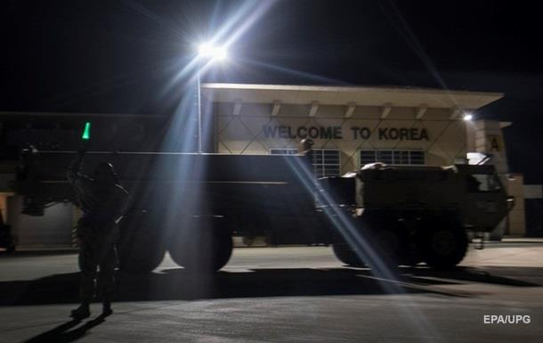 США доставили радар для системы THAAD в Южной Корее