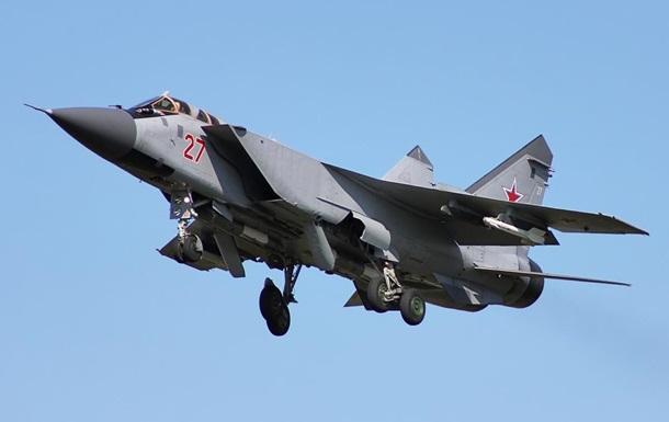 В России упал истребитель МиГ-31