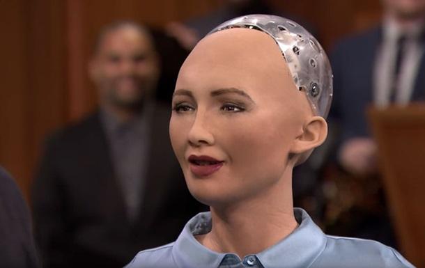 Робот Софія зізналася в намірі полонити світ