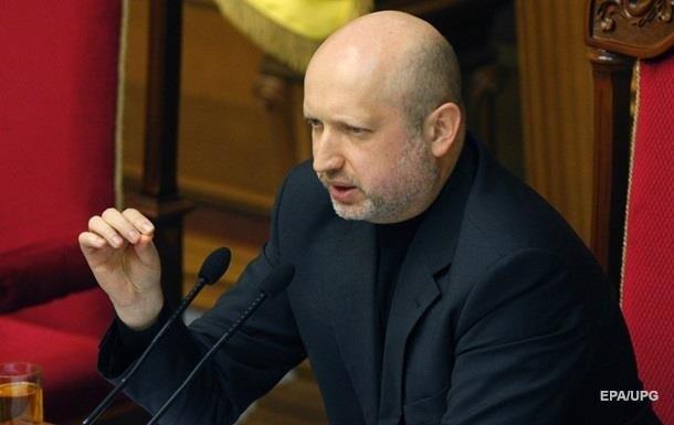 Турчинов просить виділити кошти на інформзахист в АТО