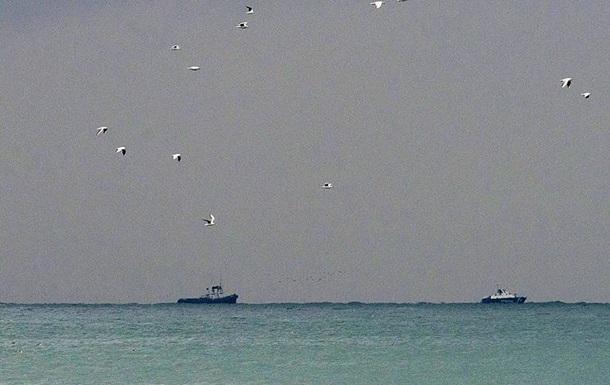 Российский военный корабль затонул в Черном море