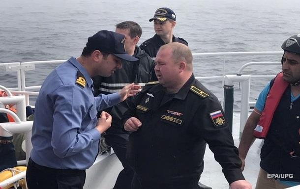 Російські військові моряки із затонулого судна вже в Севастополі
