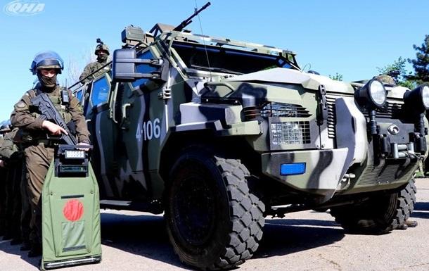 В Одессе против ВАТЫ - БТРы и бронетехника, по  наводке  Окуевой